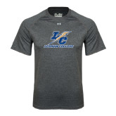 Under Armour Carbon Heather Tech Tee-LC Lightning Stacked