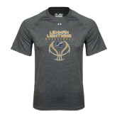 Under Armour Carbon Heather Tech Tee-Basketball On Ball