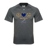 Under Armour Carbon Heather Tech Tee-Just Kick It