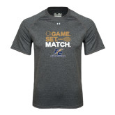 Under Armour Carbon Heather Tech Tee-Game Set Match