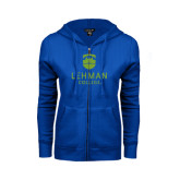 ENZA Ladies Royal Fleece Full Zip Hoodie-University Mark