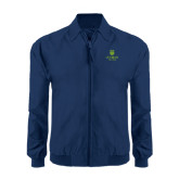 Navy Players Jacket-University Mark