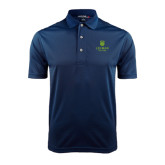College Navy Dry Mesh Polo-University Mark