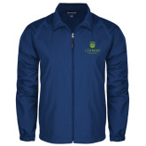 College Full Zip Royal Wind Jacket-University Mark