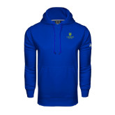 College Under Armour Royal Performance Sweats Team Hoodie-University Mark