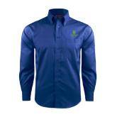 Red House French Blue Long Sleeve Shirt-University Mark