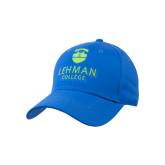 College Royal Heavyweight Twill Pro Style Hat-University Mark