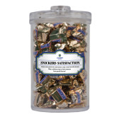Snickers Satisfaction Large Round Canister-University Mark