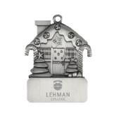 Lahman Pewter House Ornament-University Mark Engraved