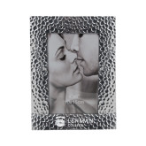 Silver Textured 4 x 6 Photo Frame-Flat University Mark Engraved