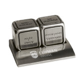 Icon Action Dice-Flat University Mark Engraved
