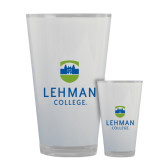 Full Color Glass 17oz-University Mark