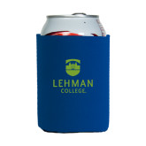 College Neoprene Royal Can Holder-University Mark