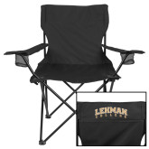 Deluxe Black Captains Chair-Arched Lehman College