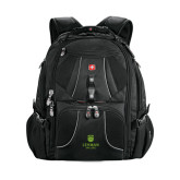 Wenger Swiss Army Mega Black Compu Backpack-University Mark