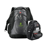 Wenger Swiss Army Tech Charcoal Compu Backpack-University Mark