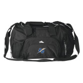 High Sierra Black Switch Blade Duffel-LC Lightning
