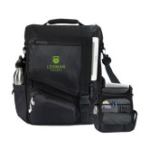Momentum Black Computer Messenger Bag-University Mark