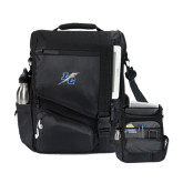 Momentum Black Computer Messenger Bag-LC Lightning