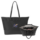 Stella Black Computer Tote-LC Lightning