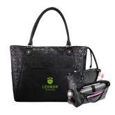 Sophia Checkpoint Friendly Black Compu Tote-University Mark