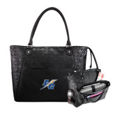 Sophia Checkpoint Friendly Black Compu Tote-LC Lightning