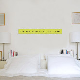 2 ft x 6 ft Fan WallSkinz-CUNY School of Law