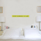 1.5 ft x 4 ft Fan WallSkinz-CUNY School of Law
