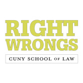 Medium Decal-Right Wrongs, 8 in wide