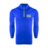 Under Armour Royal Tech 1/4 Zip Performance Shirt-Right Wrongs