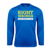 Performance Royal Longsleeve Shirt-Right Wrongs