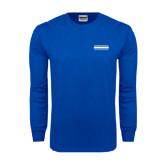 Royal Long Sleeve T Shirt-Official Logo