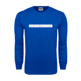 Royal Long Sleeve T Shirt-CUNY School of Law