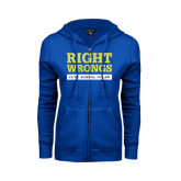 ENZA Ladies Royal Fleece Full Zip Hoodie-Right Wrongs