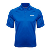 Royal Textured Saddle Shoulder Polo-CUNY School of Law