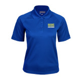 Ladies Royal Textured Saddle Shoulder Polo-Right Wrongs