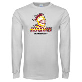 White Long Sleeve T Shirt-Knights with University