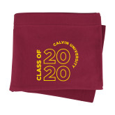 Maroon Sweatshirt Blanket-Class of 2020 Stacked
