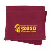 Maroon Sweatshirt Blanket-Class of 2020 Knight