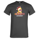 Charcoal T Shirt-Knights with University