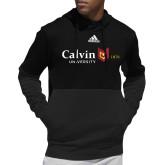 Adidas Black Team Issue Hoodie-University Logo 1876 Horizontal