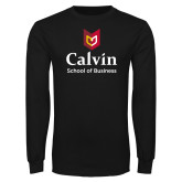 Black Long Sleeve T Shirt-School of Business