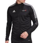 Adidas Black Tiro 19 Training Jacket-University Logo 1876 Horizontal