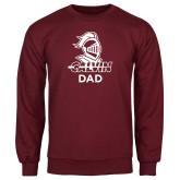 Maroon Fleece Crew-Dad Knight Calvin