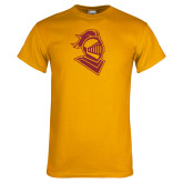 Gold T Shirt-Knight Head