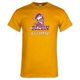 Gold T Shirt-Alumni Knight Calvin