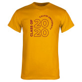 Gold T Shirt-Class of 2020 Stacked
