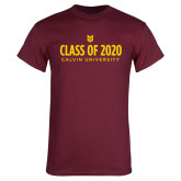 Maroon T Shirt-Class of 2020