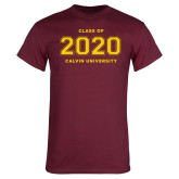 Maroon T Shirt-Class of 2020 Knight