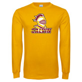 Gold Long Sleeve T Shirt-Knight Calvin